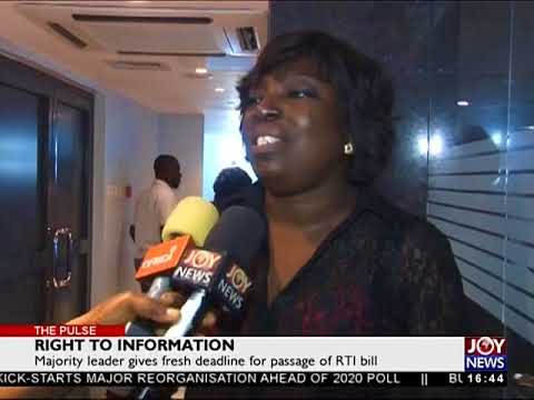 Right to Information - The Pulse on JoyNews (8-5-18)