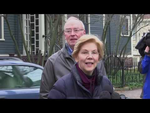 Sen. Elizabeth Warren has announced she's forming an exploratory committee for the 2020 election, her first major step toward launching a campaign for president. (Dec. 31)