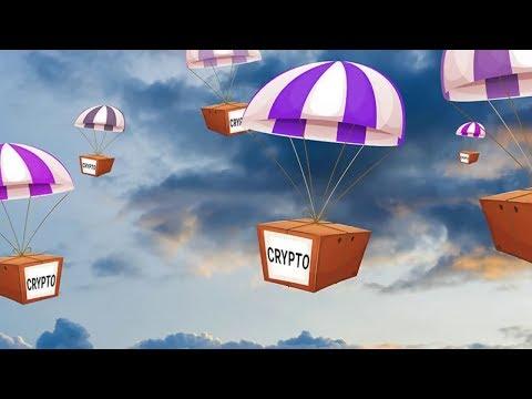 ✈10 Airdrop криптовалют с заданиями за которые дают токены
