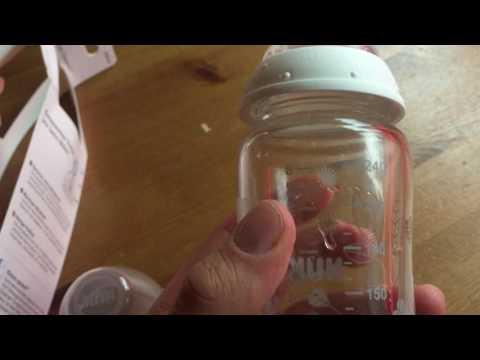 Tipp: Trinkflasche ohne Weichmacher - NUK First Choice Glass