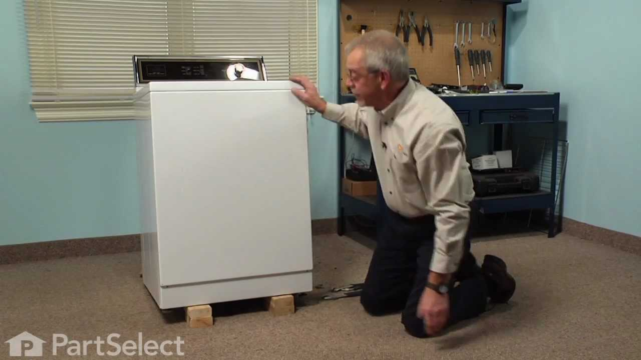 Replacing your Maytag Washer Rubber Foot Pad