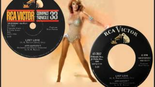 ANN-MARGRET - Lost Love (1961) Her First Single! (Stereo)
