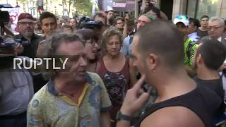 LIVE: Protesters march against