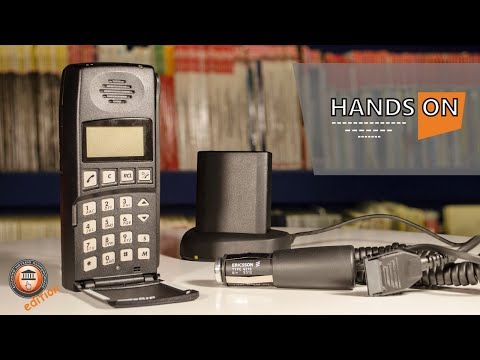 Ericsson cellphone 1513 - Hands On