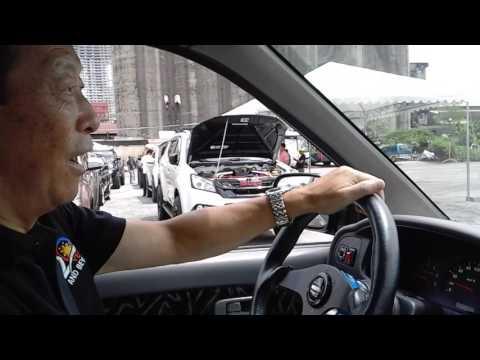 Isuzu Crosswind Test Drive