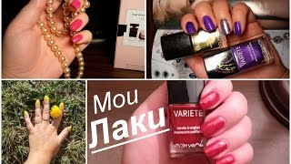 МОЯ ЛАКОВАЯ КОЛЛЕКЦИЯ. Средсва для маникюра. My nail polish collection. OxanaMoscow