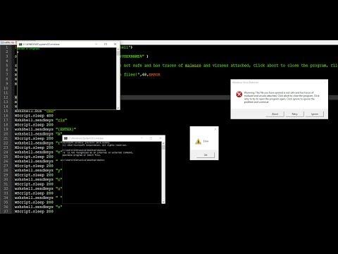 Vbscript en executable - смотреть онлайн на Hah Life