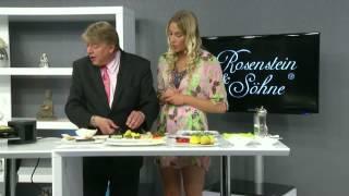 Rosenstein & Söhne Variabler Raclette-Grill 2-8 Personen
