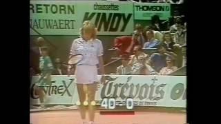 1987 French Open Final Steffi Graf Vs Martina Navratilova
