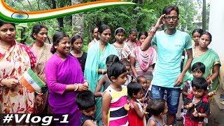 Comedian Sunil Independence Day Celebration With Child 15 Aug #Vlog-1 || Film Star Celebrity