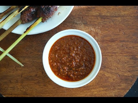 How To Make Peanut Sauce For Satay