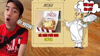 Tối nay ăn gì   Gà rán phô mai Chizza của KFC