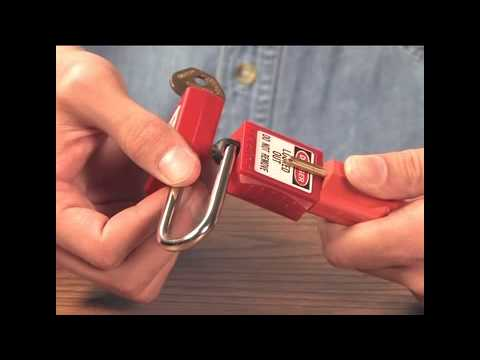 Screen capture of Master Lock Safety S2005 - Plug Lockout