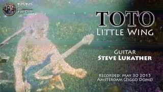 Best guitarist in the world Steve Lukather (TOTO) covers Jimi Hendrix Little Wing