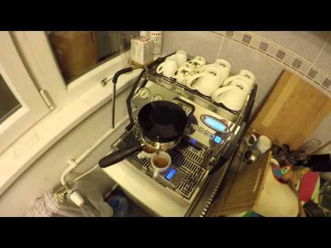 Espresso routine with La Marzocco GS3 AV and HG-one