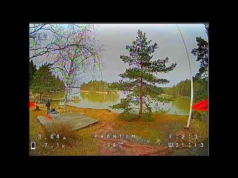 Winter island fun, flying over water #3 - GEPRC Phantom (2020 #24)