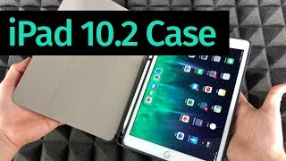 iPad 10.2 7th 2019 Smart Leather Stand Case Cover Unboxing | eBay/Amazon