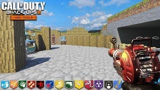 "ONE WINDOW CHALLENGE (Minecraft Edition) - BLACK OPS 3 ""CUSTOM ZOMBIES"" MAP! (COD Zombie Mods)"