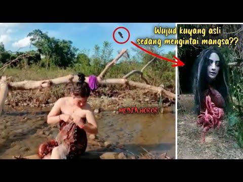 5 Penampakan hantu kuyang asli diduga mencari mangsa dilangit tertangkap menangis dan terekam kamera