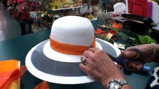 Derby Hats - Trimming Part 1