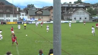 preview picture of video '01.09.2012: SC Schwyz - FC Zürich Frauen'