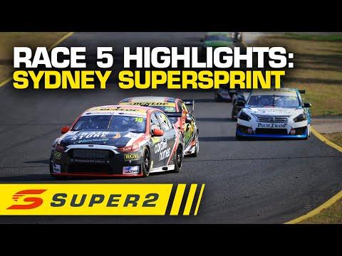 SUPERCARS シドニースーパースプリント レース#5ハイライト動画