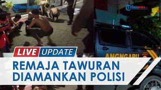 Tawuran Pemuda Barukang Vs Cambayya Makassar Pecah Lagi, 8 Pelaku & Puluhan Anak Panah Diamankan