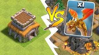 "TH8 BASE vs. LAST BOSS DRAGON!! ""Clash Of Clans"" HOW TO WIN!!"