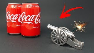 MINI CANNON vs COCA COLA