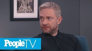 Martin Freeman Sums Up His Sherlock Co-Star Benedict Cumberbatch | PeopleTV | Entertainment Weekly