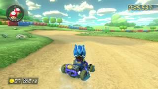 SNES Donut Plains 3 - 1:13.696 - Sи¢ Doodle (Mario Kart 8 World Record)