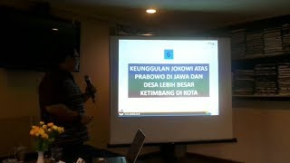 Survei Median Jokowi Ungguli Prabowo di Pulau Jawa dan Desa