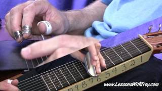 PEARLY SHELLS (Pupu O A 'Ewa) - C6 Lap Steel Lesson - arr. by Troy Brenningmeyer