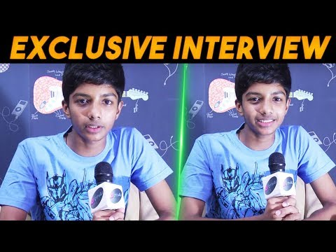 Child Artist Sai Prasad Talks About ..