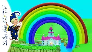 Learning Colors for Kids with Rainbow * 3D TV
