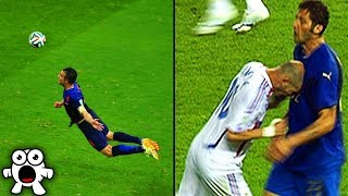 Top 20 Shocking World Cup Football Moments Of All Time