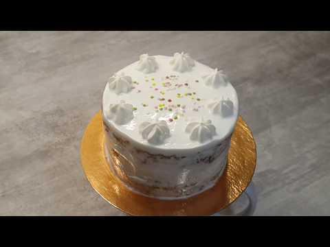 Как украсить праздничный торт ребёнку на первый День Рождения