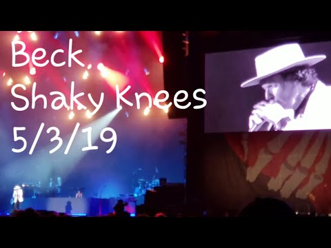 "Beck ""Saw Lightning"" 5/3/19 Shaky Knees Music Festival  Atlanta, Georgia"