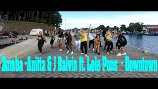 Zumba - Anitta & J Balvin  ft. Lele Pons & J- Downtown