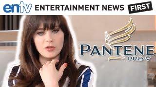 Zooey Deschanel Tutorial: Pantene Pro-V Hair & Beauty Tips - Hollywoodlife