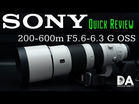 External Review Video igM65dJClto for Sony FE 200-600mm F5.6-6.3 G OSS Lens (SEL200600G)