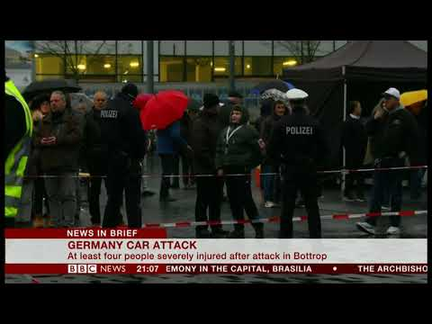 Car Attack (Germany) - BBC News - 1st January 2019