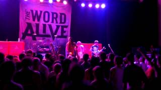 The Word Alive live new song Dragon Spell!