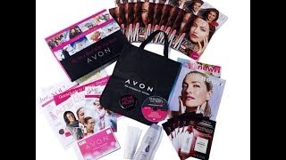 The Newly Updated Avon Appointment Kit.