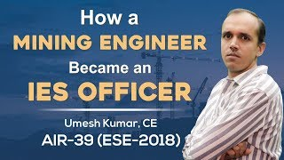 ESE/IES 2018 | Umesh Kumar (CE, AIR 39) – MADE EASY Student | Toppers Talk with Mr. B Singh