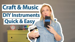 Homemade Instruments For Kids