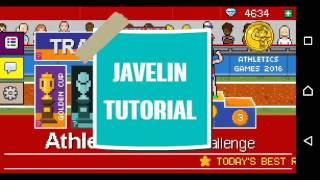 Javelin Tutorial - ATHLETICS WORLD CHALLENGE