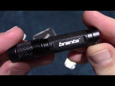 Bronte BT01 Key Chain Flashlight Review!