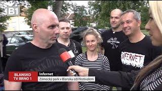 Video TV BRNO 1 Zámecký park v Blansku ožil festivalem