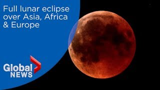 """Blood Moon"" full lunar eclipse 2018"